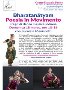 Bharatanatyam - Poesia in movimento